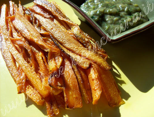 Fried Carrots with Garum