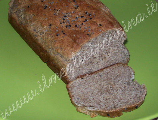 Spiced millet bread