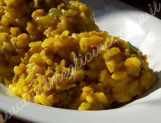 Risotto with Pumpkin Ragout