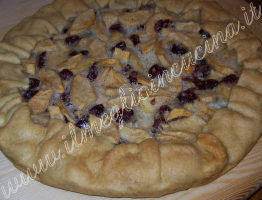 Torta di mele e cranberries - USA
