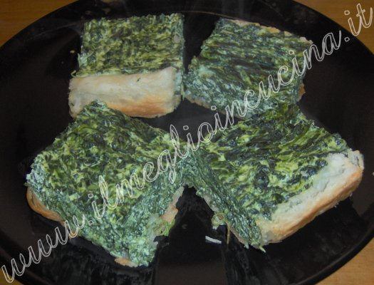Torta Pasqualina (Spinach in Puff Pastry)
