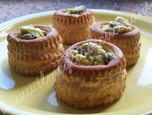 Vol-au-vent all'indiana