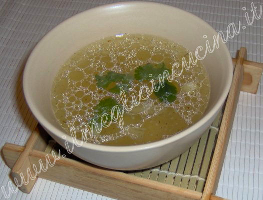 Bamboo Sprouts Soup - China