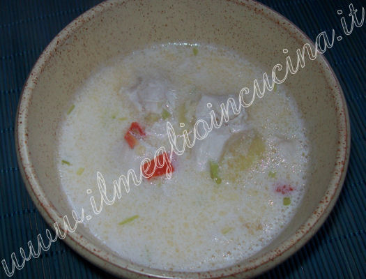 Thai Chicken Soup (Tom Ka Gai) - Thailand